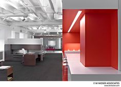 When office lighting mimics daylight, it is proven that people become more productive. A creative space can help with work inspiration and productivity as well. Let LEDs inspire your office reno.