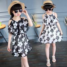 $15.99 (Buy here: https://alitems.com/g/1e8d114494ebda23ff8b16525dc3e8/?i=5&ulp=https%3A%2F%2Fwww.aliexpress.com%2Fitem%2FGirls-Floral-Print-Chiffon-Dress-Summer-Flower-Dress-2016-Children-Casual-Dresses-for-Teens-Girls-Vestido%2F32668718972.html ) Girls Floral Print Chiffon Dress Summer Flower Dress 2016 Children Casual Dresses for Teens Girls Vestido Kids Girls Clothes for just $15.99