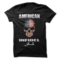 American Infidel T-Shirt - #vintage tshirt #sweatshirt girl. SATISFACTION GUARANTEED => https://www.sunfrog.com/Political/American-Infidel-T-Shirt.html?68278