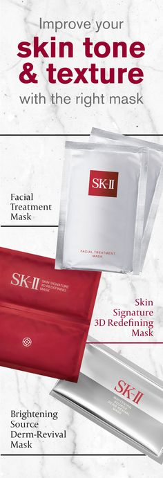 SK-II sheet masks help you improve skin tone and texture in just 10, quick minutes. You need to try these amazing masks.