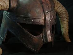 Wicked Armor - Fine Professional Quality Costumes, Props, and Replicas For Film, Product Promotion, and Cosplay - Skyrim Iron Helmet