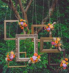 Un photo booth tout fleuri !