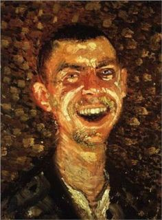 Richard Gerstl  -  Self Portrait Laughing  -  Born: 14 September 1883; Vienna, Austria  -  Died: 04 November 1908; Vienna, Austria  -  Field: painting, drawing  -  Movement: Art Nouveau, Expressionism