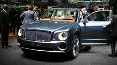 2014 Bentley Exp SUV Concept