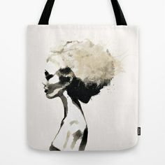 Serene - Digital fashion illustration / painting Tote Bag by Allison Reich - $22.00 #art #illustration #fashion #fashionillustration #watercolor #girl #bag #tote #model #design