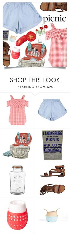 """""""Picnic in the Park"""" by violet-peach ❤ liked on Polyvore featuring Picnic Time, Williams-Sonoma, Fabrizio Chini and picnic"""