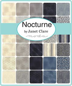 "Nocturne Turnover 6"" Triangles Moda Precuts"