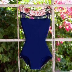 Beautiful Ballet Leotard in Boat Neck Style from Luckyleo Dancewear Handmade Custom Bodysuit