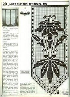 BB Crochet: curtains