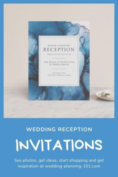 If you are having a wedding reception party after getting married (elopement, small wedding due to COVID, or small destination wedding) you might be searching for invitations just to your wedding reception. See photos and get ideas today! #WeddingReceptionInvitations #WeddingRecpeptionInvitationIdeas #WeddingReceptionInvites #WeddingReceptionStationery #WeddingInvitations