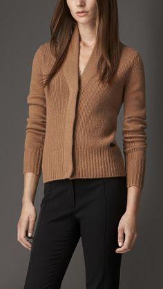 Cashmere Shawl Collar Cardigan | Burberry