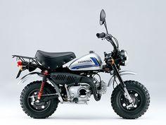 Honda injects fuel into Monkey bike, gets 252 mpg in return. 1967 Honda Monkey Z50.