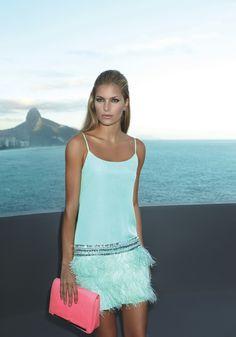 Brazilian designer Iorane, SS 2013, shot in Rio de Janiero. Model: Sally. (Surname?)