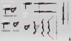 """Livvin' that mug life. Anime Weapons, Sci Fi Weapons, Armor Concept, Weapon Concept Art, Weapons Guns, Fantasy Armor, Fantasy Weapons, Arsenal, Super Hero Games"