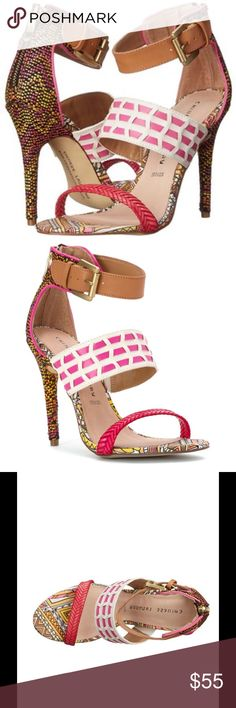 JUST IN! Chinese Laundry Lila Heels I absolutely love these multi-colored Lila heels by Chinese Laundry.  Get them brand new in box from my closet at a discounted price! Chinese Laundry Shoes Heels