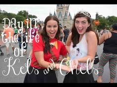 Disney College Program: Day In The Life Of Kels & Chels