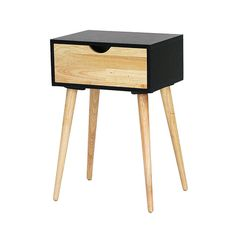 Found it at AllModern - Euro 1 Drawer End Table