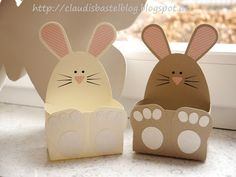 unabhängige Stampin' UP! Diy And Crafts, Crafts For Kids, Arts And Crafts, Easter Gift, Easter Crafts, Diy Ostern, School Treats, Easter Cookies, Craft Party