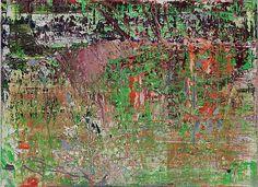 #GerhardRichter Abstract Painting Oil on Canvas (Catalogue No. 903-6), 2008, 32 1/4 X 44 1/8 inches  Follow #GerhardRichter on #Pinterest, curated by #JKLFA http://pinterest.com/jklfa/gerhard-richter/