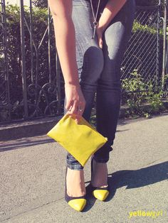 Gedippte Pumps von yellowgirl.at | yellowgirl