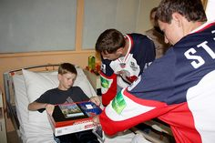 #hcslovan #players #hospital #children