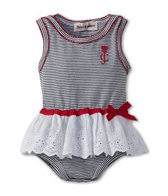 Juicy Couture Kids Skirted Bodysuit (Infant)