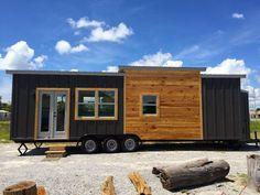 Tiny Houses, dreamhousetogo:   The Irving by Tiny Life... #luxurytinyhouse