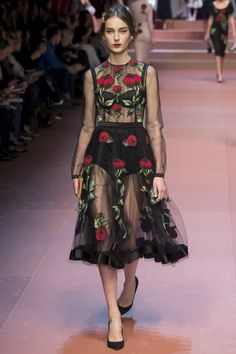 Milan Fashion Week, Dolce & Gabanna Otoño Invierno 2015
