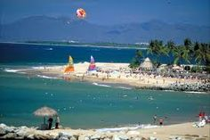 Puerto Vallerta, Mexico - with Keith - I loved the parasailing!