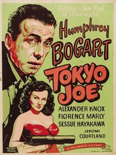 Tokyo Joe [Poster, 1 of 24 high-resolution movie posters in this group.