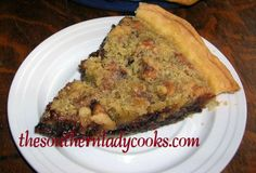 Chocolate Chip Bourbon Pie