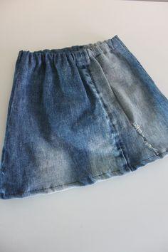 Rokje van old denim..made by A-leebel Old Jeans, Casual Shorts, Women, Fashion, Moda, Fashion Styles, Fashion Illustrations, Woman