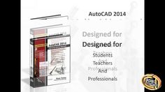 AutoCAD 2014 textbook by Prof Sham Tickoo and CADCIM Technologies - YouTube