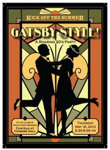 Gatsby Style: A Roaring Twenties Party Tickets