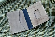 Distressed Leather, Brown Leather, Minimalist Leather Wallet, Handmade Wallets, Credit Card Wallet, Leather Design, Leather Cover, Hand Stitching, My Etsy Shop