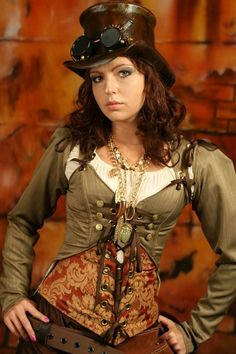 #steamPUNK ☮k☮ #girl