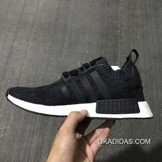 Fresh adidas NMD_R1 Winter Wool Primeknit Core Black-Footwear White Boost For Sale