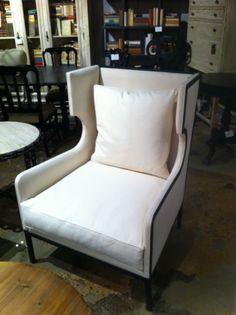 Franz chair w metal frame. It's a looker! #hpmkt