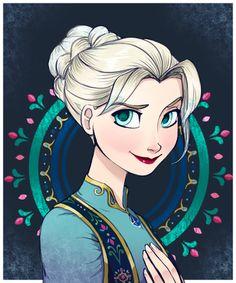 The Snow Queen by chocolatesmoothie on deviantART