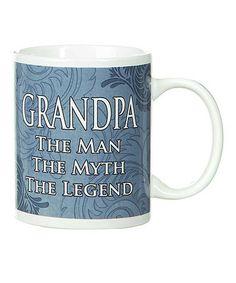 Look at this #zulilyfind! Blue 'Grandpa' Mug by GANZ #zulilyfinds