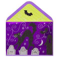 Halloween Cat & Bats Price $7.95