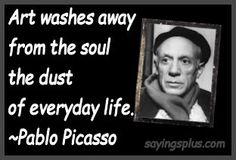 famous artists quotes - picasso