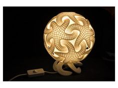 Starfish lamp by purligar on Shapeways