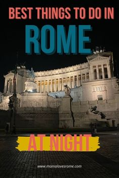 What to do in Rome at night? Discover evening tours, sightseeing opportunities and the best spots to visit in Rome after the sun goes down. The best things to do in Rome at night and how to make the most of Rome nightlife