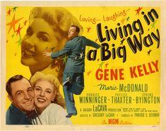 Living in a Big Way - Gene Kelly
