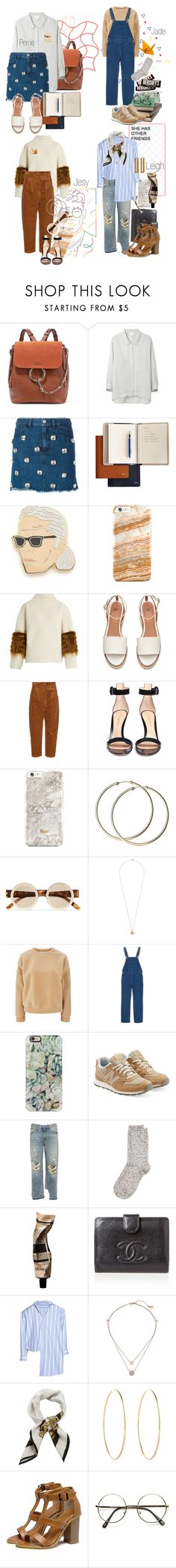 """NYFW"" by voidjesy ❤ liked on Polyvore featuring Chloé, Band of Outsiders, Au Jour Le Jour, Georgia Perry, Saks Potts, Hillier Bartley, Gianvito Rossi, Le Specs, Dorothy Perkins and Glamorous"