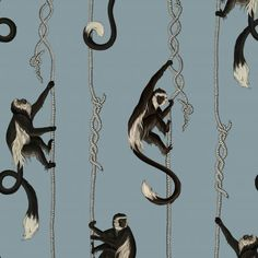 Панно House Of Hackney, коллекция London артикул Troop/Dusk - Artique Monkey Wallpaper, Art Deco Wallpaper, Luxury Wallpaper, Home Wallpaper, Animal Wallpaper, Designer Wallpaper, Pattern Wallpaper, House Of Hackney Wallpaper, Bedroom Wallpaper