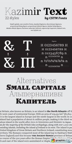 Kazimir Text by CSTM Fonts