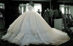 Now THAT'S a princess wedding dress
