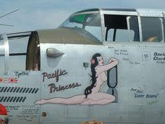 Nose Art Pacific Princess
